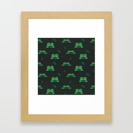 See you later alligator (Patterns Please) Framed Art Print