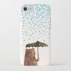 Rain rain go away iPhone 7 Slim Case