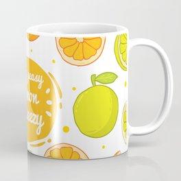 Easy Peasy Lemon Squeezy Coffee Mug