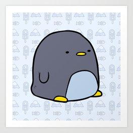 Little Penguin Art Print