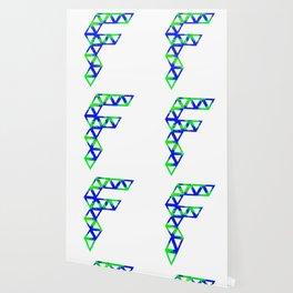 F splatter Wallpaper