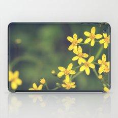 yellow bursts iPad Case