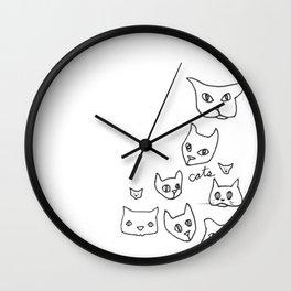 Cats Cat Wall Clock