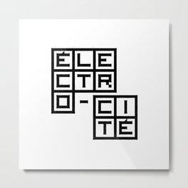 Électro-Cité 1 Metal Print
