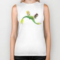 mermaids Biker Tanks featuring Mermaids by SofusGirl