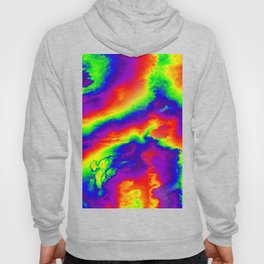 Psychedelic  Fire Hoody