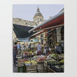 Going to the Market Poster