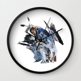 Indian Dancer Wall Clock