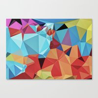 peace Canvas Prints featuring inner peace by contemporary