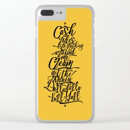 C.R.E.A.M Clear iPhone Case