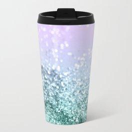 Mermaid Girls Glitter #4 #shiny #decor #art #society6 Travel Mug