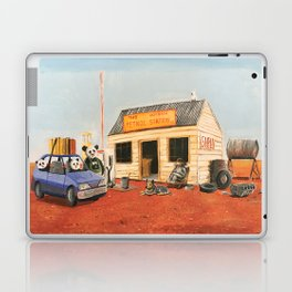 The Outback Petrol Station Laptop & iPad Skin