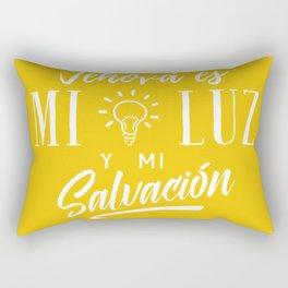 Mi luz y salvación Rectangular Pillow
