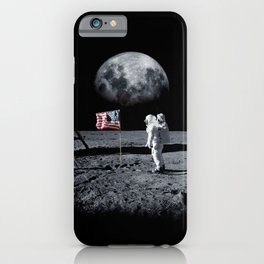 The Great Conspiracy: The Moon Is a Lie iPhone Case