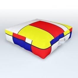 Mondrian #37 Outdoor Floor Cushion
