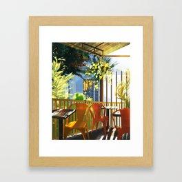 Yoku Framed Art Print