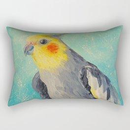 Corella parrot Rectangular Pillow
