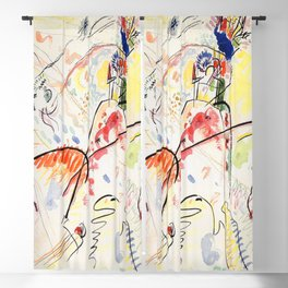 Wassily Kandinsky Small Pleasures Blackout Curtain