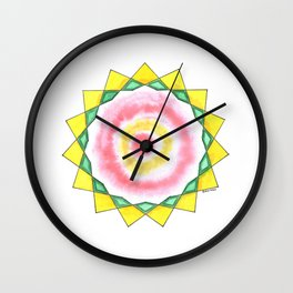 Wise Woman Star Wall Clock