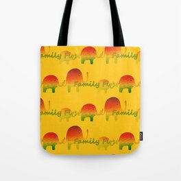 Family First Tote Bag