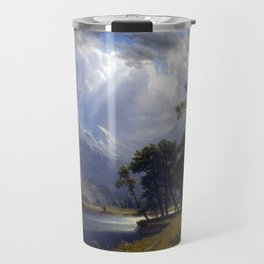 Albert Bierstadt Yosemite Valley Travel Mug