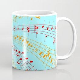 Music Brightens the World Coffee Mug