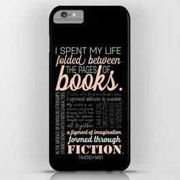Folded Between the Pages of Books - Pastel iPhone Case