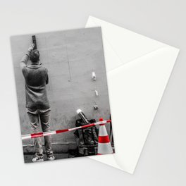 Meticulous Street Artist Stationery Cards