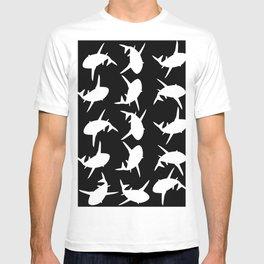 Shark Pattern T-shirt