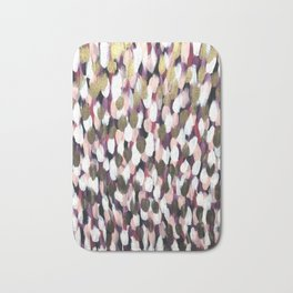 Pink and Gold Bath Mat