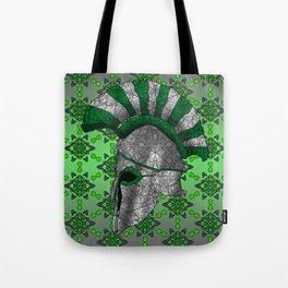 Spartan Helmet Tote Bag