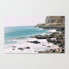 Highway 101 California Canvas Print