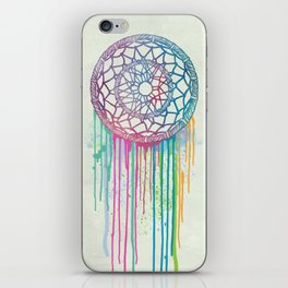 Watercolor Dream Catcher iPhone Skin