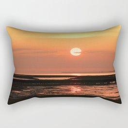 Feelings on the sea, Rectangular Pillow