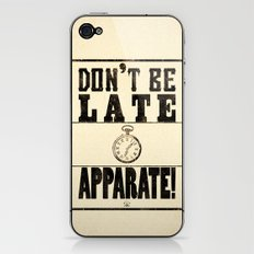 Apparate! iPhone & iPod Skin