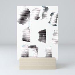 Rolled lines Mini Art Print