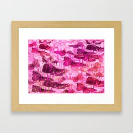 BUTTERFLY HOTHOUSE Framed Art Print