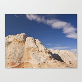 White Pocket Canvas Print