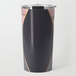 Marble Geometry 018 Travel Mug