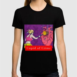 Cupid of Crime T-shirt