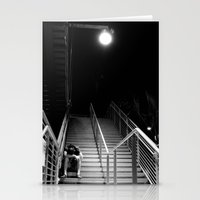 alone Stationery Cards featuring ALONE by Arevik Martirosyan