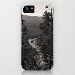 gibbon canyon iPhone Case