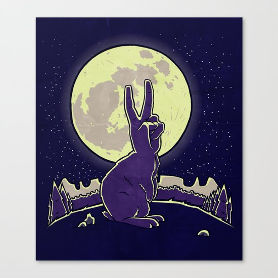 The Rabbit Canvas Print