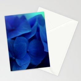 Pretty Indigo Hydrangea Flower  #decor #society6 #buyart Stationery Cards