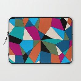 Color Blocks Geometric Laptop Sleeve