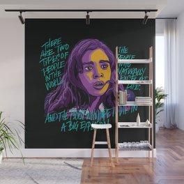 Nadine Franklin Wall Mural