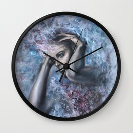 Think Less, Feel More Wall Clock