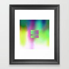 BX ON Framed Art Print