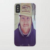 matty healy iPhone & iPod Cases featuring Matty by Cody Jenny