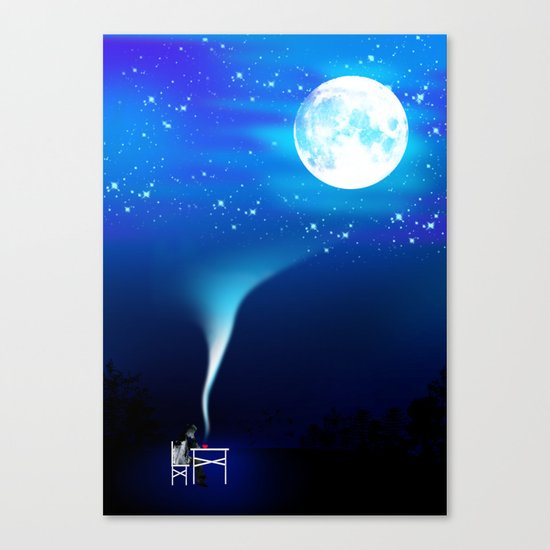 I guess that's why they called it the Blues Canvas Print